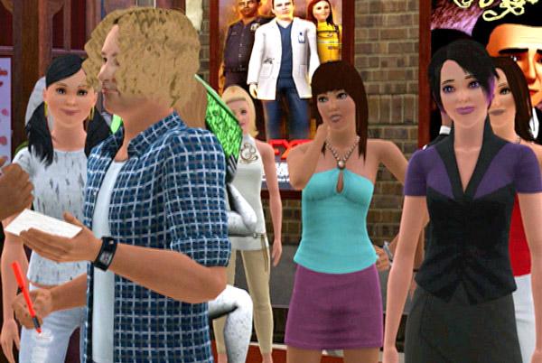 David Bisbal en Los Sims 3, Bisbal se convierte en un personaje de Los Sims en su último videoclip