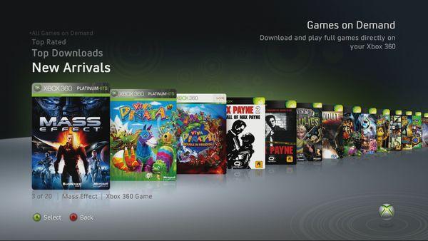 Xbox 360 Amplia Su Catalogo De Juegos Bajo Demanda Con Tres Nuevos