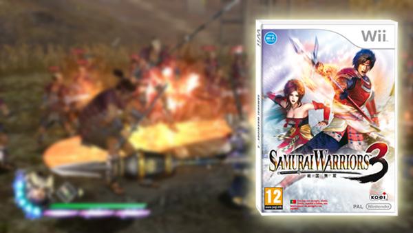 Samurai Warriors 3, Wii tendrá su juego de acción histórica en el Japón feudal