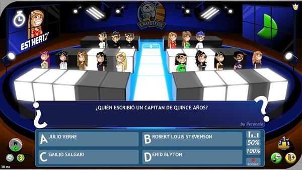OPQA Eruditos, un juego gratuito de preguntas al estilo Buzz para jugar por Internet
