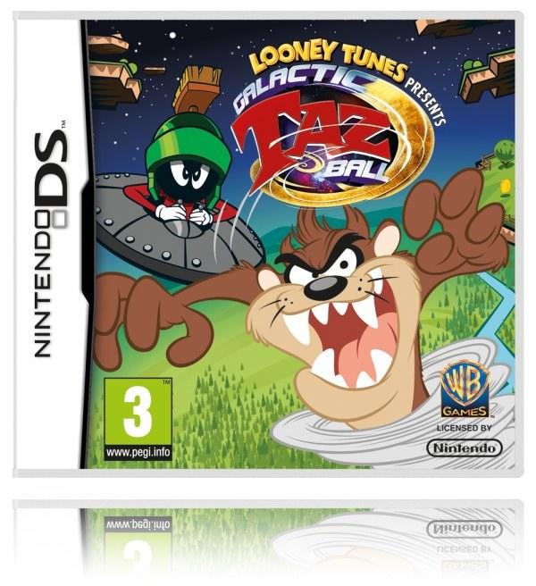 Galactic Taz Ball NDS, el nuevo juego del demonio de Tasmania para Nintendo DS