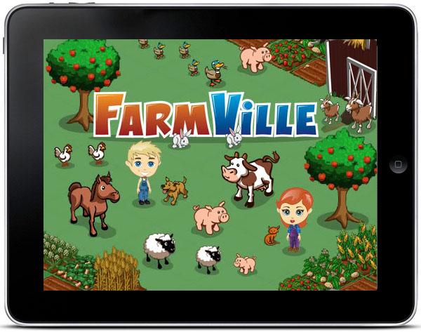 Farmville llegará a iPad, el famoso juego de Facebook podría llegar al tablet de Apple