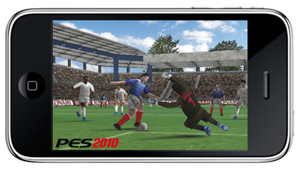 PES 2010, Pro Evolution Soccer 2010 para iPhone y iPod Touch disponible desde junio