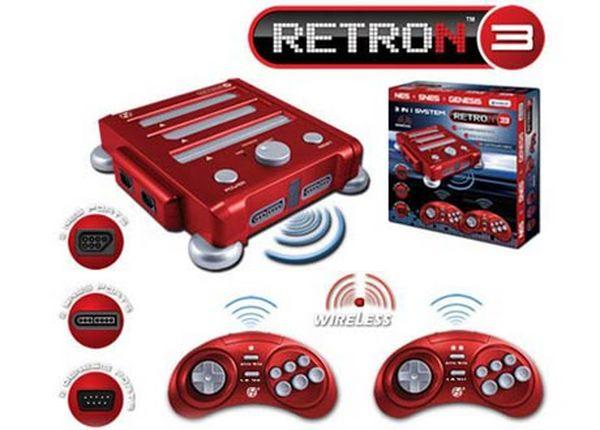 RetroN 3, una nueva consola retro compatible con NES, Super Nintendo y Mega Drive