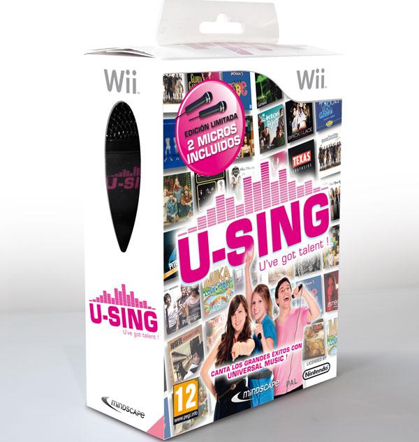 U-Sing para Wii, a la venta la nueva edición del Karaoke de la Wii desde mañana 11 de mayo