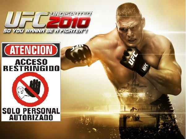 UFC Undisputed 2010, los que compren el juego de segunda mano deberán pagar por jugar online