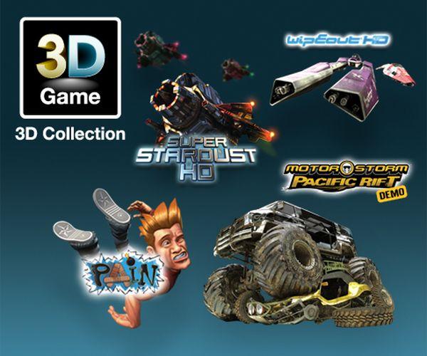 PS3, Ya están disponibles los primeros juegos en 3D para PlayStation 3