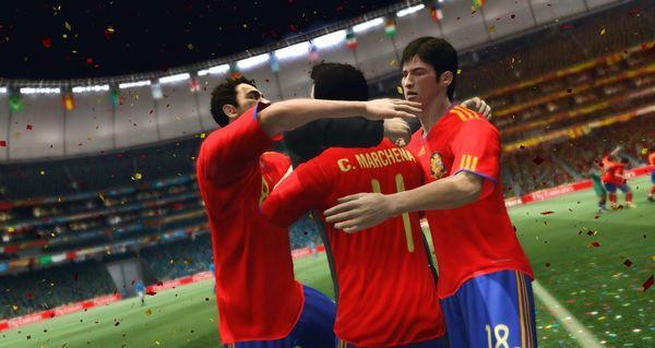 España vs Suiza, España gana a Suiza 2-1 en su debut en el Mundial de Fútbol de Sudáfrica