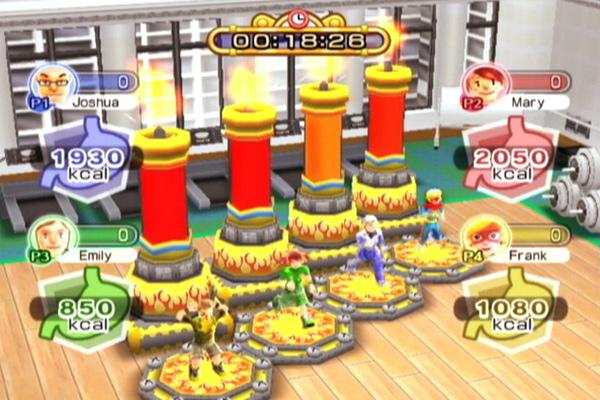 Family Party: Fitness Fun, un juego para poner en forma tanto a niños como a adultos