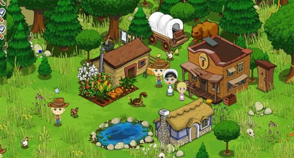 FrontierVille, el nuevo juego de Facebook al estilo FarmVille, pero en el lejano oeste