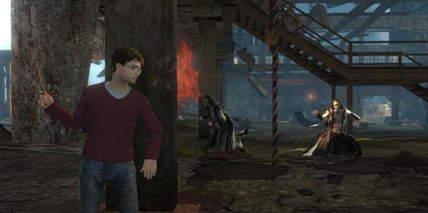 Harry Potter y las Reliquias de la Muerte, el mago adolescente se pasa a los juegos de acción