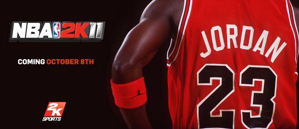 NBA 2K11, Michael Jordan saldrá en la portada de este juego de baloncesto