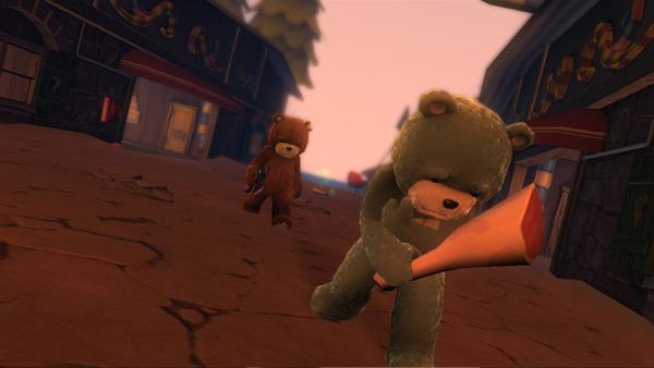 Naughty Bear, el oso de peluche más peligroso, aterriza mañana en las tiendas