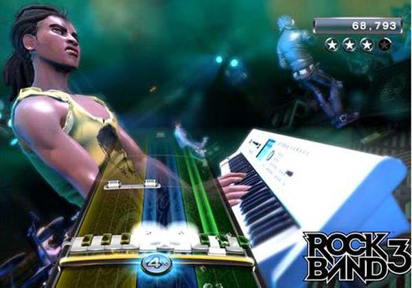 E3 2010, Rock Band 3 ahora con teclado y un modo para aprender a tocar instrumentos reales
