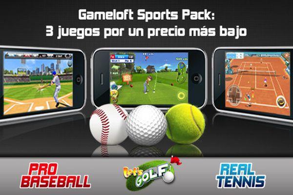 Gameloft Sports Pack, descarga 3 juegos para tu iPhone y iPod Touch al precio de uno