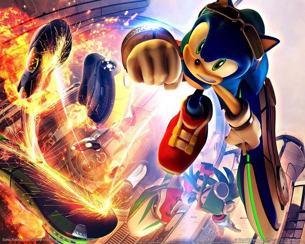 Sonic Free Riders, un nuevo juego del erizo de Sega compatible con Natal de Xbox 360