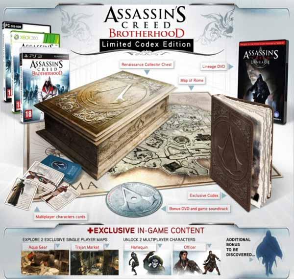 Assasin's Creed: La Hermandad, desvelada la edición de coleccionista