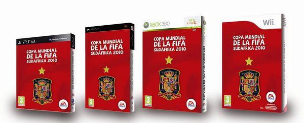 Copa Mundial de la FIFA Sudáfrica 2010, edición especial selección española ya a la venta
