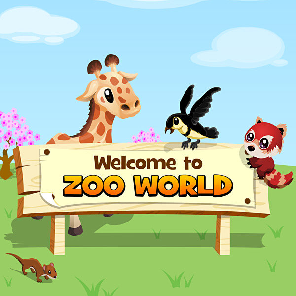 Zoo World, juega gratis en Facebook administrando tu propio zoo