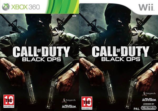 Call Of Duty: Black Ops, Activision muestra las carátulas de su nuevo shooter