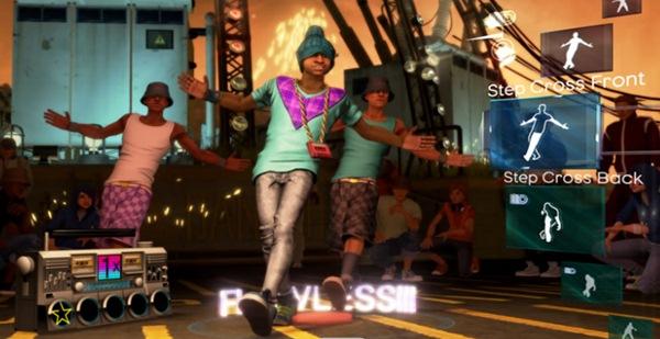 Dance Central, el videojuego musical de baile de Harmonix para Kinect de Xbox 360