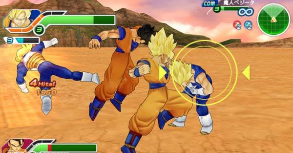 Dragon Ball Z: Tenkaichi Tag Team, nuevo trailer de este juego de PSP