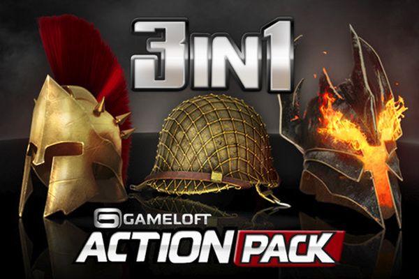 Gameloft Action Pack, descarga 3 juegos para tu iPhone y iPod Touch al precio de uno
