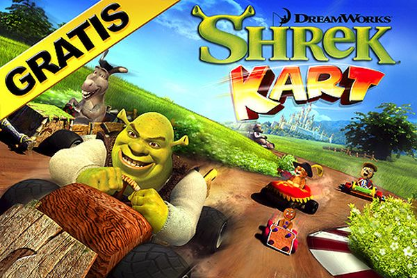 Shrek Kart, descarga gratis este juego de carreras de coches para iPhone y iPod Touch