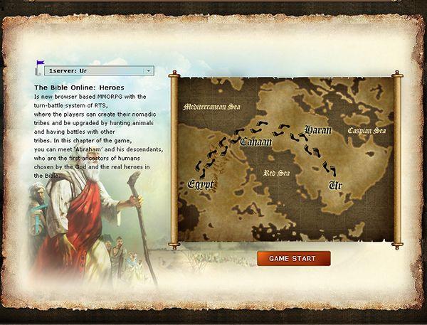 The Bible Online, juega gratis a este juego de estrategia basado en La Bliblia