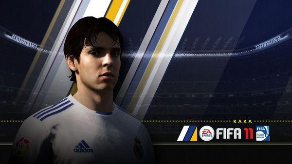 FIFA 11, Kaká compartirá la portada de FIFA 11 junto a Andrés Iniesta