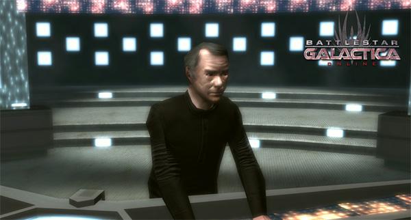 Battlestar Galactica Online, en el juego podremos ver algunos rostros conocidos de la serie