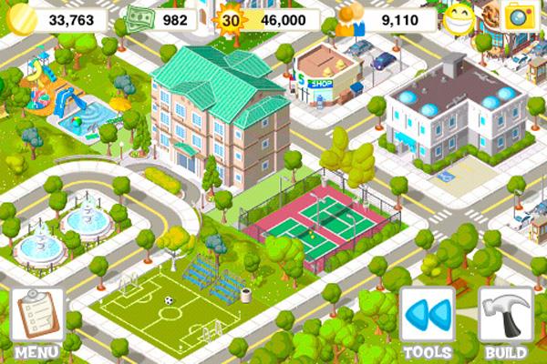City Story, un nuevo juego que descargar gratis del estilo de FarmVille, para iPhone y iPad