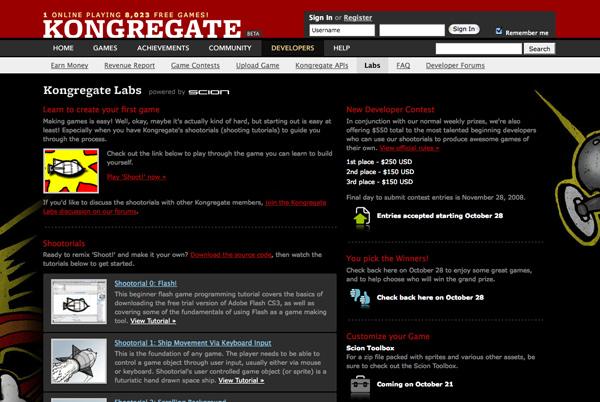 Kongregate, un portal online con cientos de juegos totalmente gratis