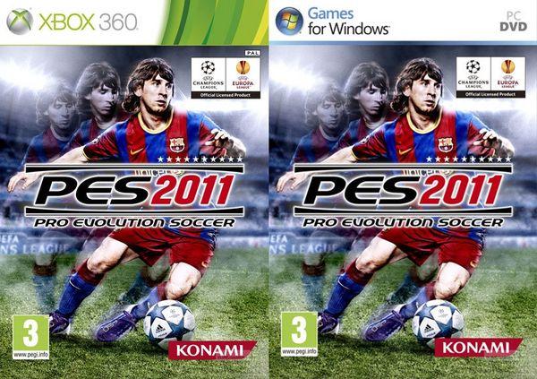 PES 2011, Konami muestra las portadas de PES 2011 y confirma su fecha de salida