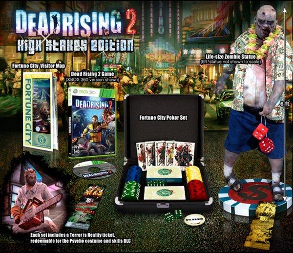 Dead Rising 2: High Stakes Edition, edición con maletín de poker zombi