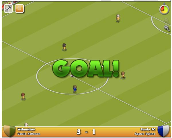 Footy!, el juego de fútbol para Facebook de los creadores de ManagerZone