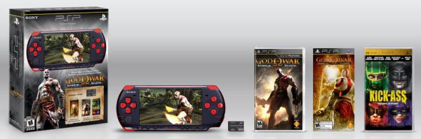God of War: Ghost of Sparta, edición especial con PSP 3000