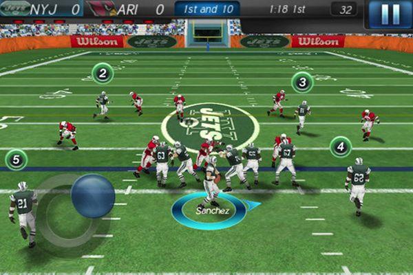 NFL 2011, ya a la venta este juego de fútbol americano para iPhone y iPod Touch