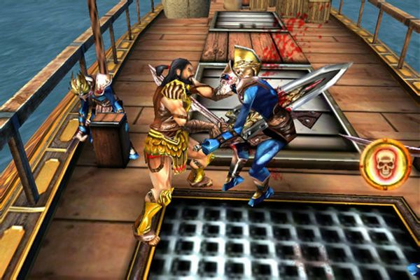 Hero of Sparta II, juego de acción tipo God Of War para iPhone y iPod Touch