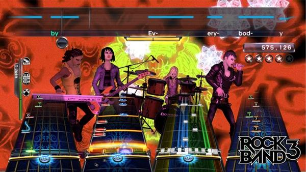 Rock Band 3, confirmada oficialmente la lista definitiva de canciones