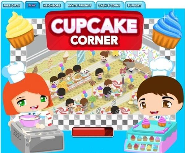 Cupcake Corner: juega en Facebook a crear tus propios bizcochos y pasteles