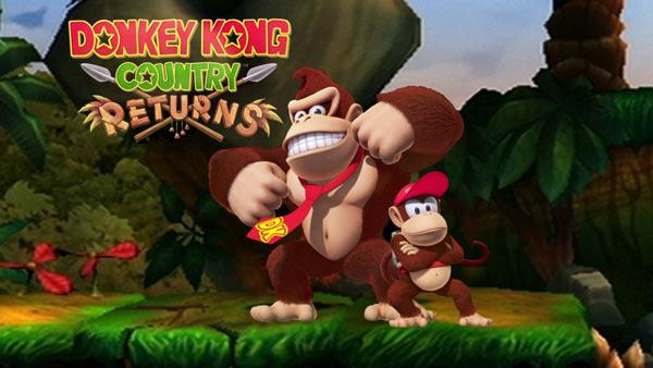 Donkey Kong Country Returns, nuevo tráiler que desvela la aparición del rinoceronte Rambi