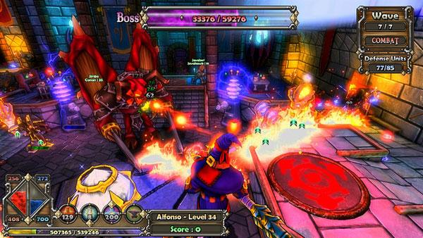 Dungeon Defenders, acción, rol y fantasía, en un juego con hordas de enemigos
