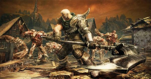 Knights Contract, el juego de acción al estilo God of War se deja ver en un tráiler