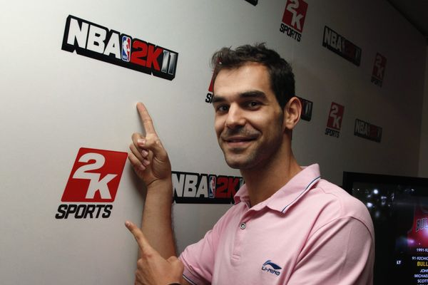 NBA 2K11, presentación oficial de NBA 2K11 con Jose Manuel Calderón