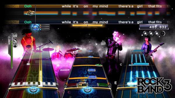 Rock Band 3, un vídeo desvela cómo será el nuevo modo Pro, con instrumentos reales