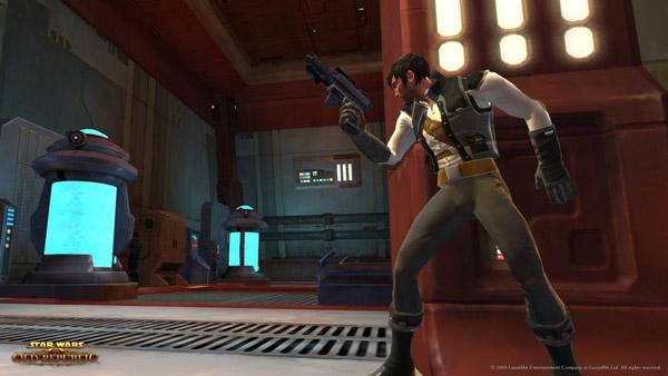 Star Wars: The Old Republic, un nuevo vídeo nos muestra la clase Smuggler, o Contrabandista