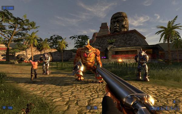 Serious Sam HD: The Second Encounter, acción, disparos y miles de enemigos a la vez