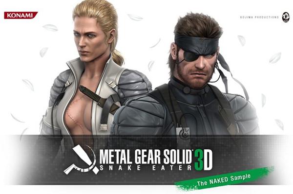 Metal Gear Solid Snake Eater 3D, primer vídeo de su versión para Nintendo 3DS