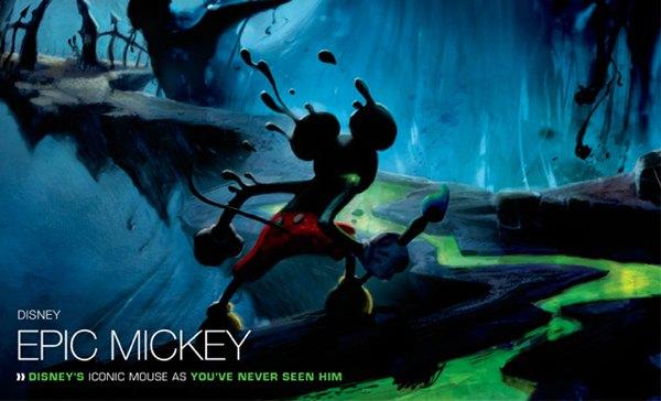 Epic Mickey podría llegar a PS3 y Xbox 360 gracias a PlayStation Move y Kinect